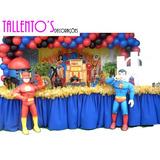 Decoração Festa Infantil Liga Da Justiça (locação)