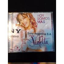 Cd Hoy Somos Más _violetta Original Nuevo