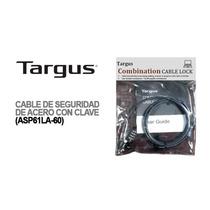 Cable Seguridad Targus Combinacion Notebooks Monitor Proyect