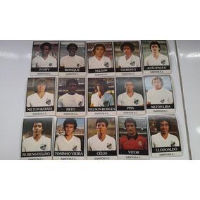 Ping Pong Futebol Cards Time Santos 15 Cards Aparo 1 Mm