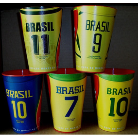 Brahma - Copos -5 Títulos Do Brasil