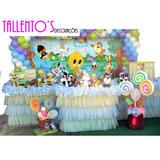 Decoração Festa Infantil Looney Tunes Baby (locação)