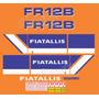 Kit Adesivos Fiatallis Fr 12b Fr12bn
