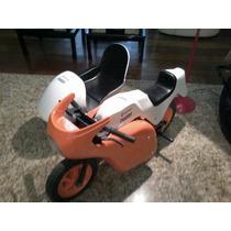 Moto De Parque Com Side Car Italiana Pedal Car
