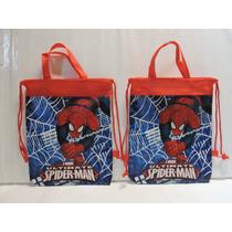 Spiderman Dulceros Bolsas Fiesta 10 Regalos Recuerdos Bolo