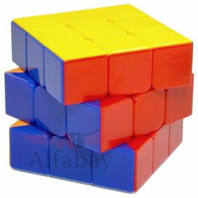 Cubo Mágico Profissional 3x3x3 Stickerless Rainbow Shengshou