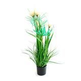 Planta Artificial 4 Flores Bl Deco Morph