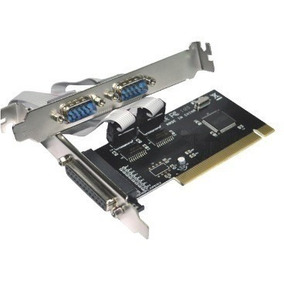 Placa Pci Multiserial Serial 2 Portas + Paralela