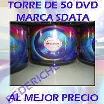 Dvd Virgen Torre De 50 Marca Sdata 16x 4.7gb Oferta!!!