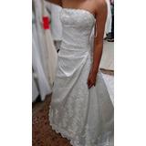 Alugo Ou Vendo - Vestido De Noiva - Semi-novo