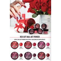 Coleccion De Acrilicos Red Gift Rojos Y Vinos Mia Secret