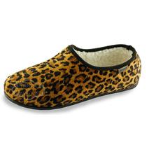 Pantuflas Corderito Base Goma Zapatillas Zapato Oferta Promo