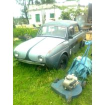 Renault Dauphine Falta Solo Subir El Motor Y El Carburador