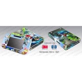 Skin Nintendo Wii U Adesivo Mario Kart 8