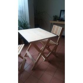 mesa de madera plegable para comedor