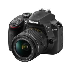 Camara Nikon D3400 Kit 18-55 Mm + Sd 16gb C 10 Garantia Mdp