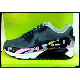 Zapatos Deportivos Nike Originales Air Max 90 Moteados