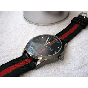 Moderno Reloj Gucci Grande Lona Subasta 1 Peso
