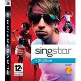 Singstar Ps3 Nuevo Sellado Requiere Micrófono Singstar