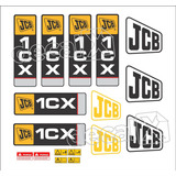 Kit Adesivos Jcb 1cx