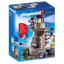 Playmobil 6680 Torre De Soldados Con Cañon