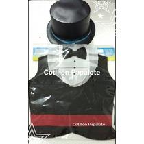 Disfraz Set Caballero Pechera Y Galera Patrio 25 De Mayo