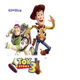 Sticker Decoracion Habitacion Niño Toy Story 3 Buzz Woody