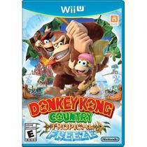 Donkey Kong Country Tropical Freeze Wii U Pronta Entrega