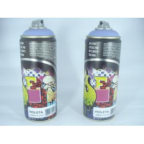 Tinta Spray Violeta Fosco Artes Graffiti 400ml