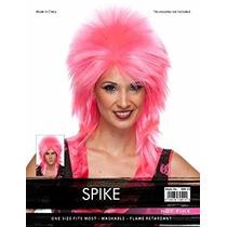 Disfraz Alta Calidad De Rosa Caliente Punto Del Punk Rock A