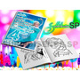 Invitaciones Infantiles Personalizadas Mini Libros Colorear