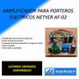 Amplificador Porteros Eléctricos Netyer Af-02 Autoapagable