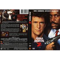 Dvd Arma Mortal Letal Lethal Weapon 2 Mel Gibson Danny Glove