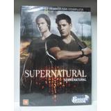 Dvd Supernatural - Oitava Temporada - Lacrado - Frete Gratis