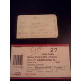 Tickets De Acceso Para Recitales De Ciro