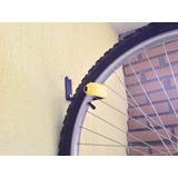 Suporte Parede Bicicleta Com Protetor P/ Não Sujar A Parede