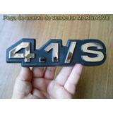 Emblema Cromado 4.1/s Para Opala Caravan Diplomata 88 89 90