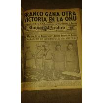 Ejemplares D Periodico El Universal Grafico De La Tarde 1946