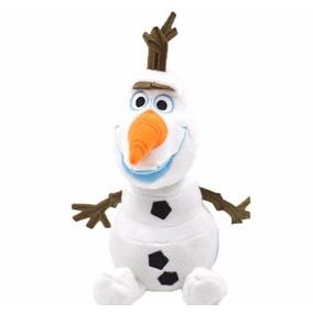 Pelúcia Olaf Frozen 25 Cm Boneco De Neve Musical