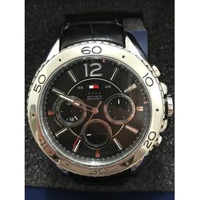 Relógio Tommyhilfinger Fundo Preto Novo Frete Grátis Lindo