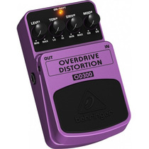 Pedal Para Guitarra Behringer Od300 Overdrive Distortion