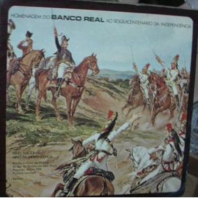 Vinil Compacto Banco Real / Independencia - Aaassaa