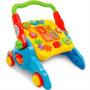 Andador Infantil Bebe 4x1 Colorido Maral