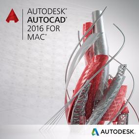 Licencia Autodesk Autocad Para Mac 2016 1 Usuario 3 Años