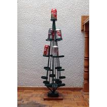 Árbol De Navidad Para Latas De Coca-cola / Hecho De Metal