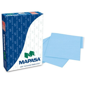 Folder Manila Azul Paste Tamaño Oficio Map-fol-pa0002 Upc: 7