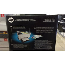 Impressora Hp Cp1025 1025nw Laser Colorida Wireless 220v