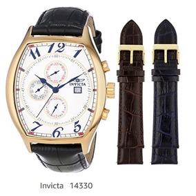 Reloj Invicta Caballero Original De Piel