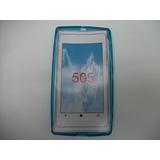 Protector Tpu Nokia Lumia 505 Color Azul!