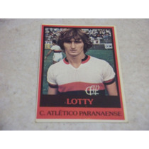 Lotty - Ping Pong Futebol Cards - Nº 339 - Atletico